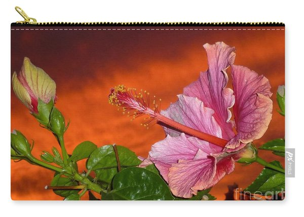 Sunset Hibiscus Carry-all Pouch