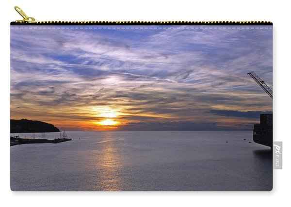 Sunset In Adriatic Carry-all Pouch