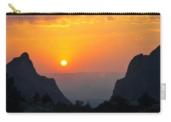 Sunset In Big Bend National Park Carry-all Pouch