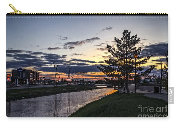 Dusk In Weyburn Carry-all Pouch