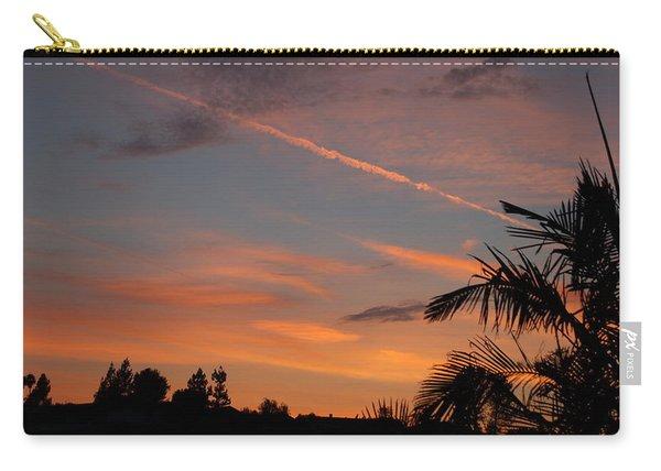 Sunset Landscape Ix Carry-all Pouch