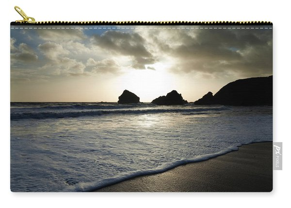 Sunset On Ballydowane Beach, Bunmahon Carry-all Pouch