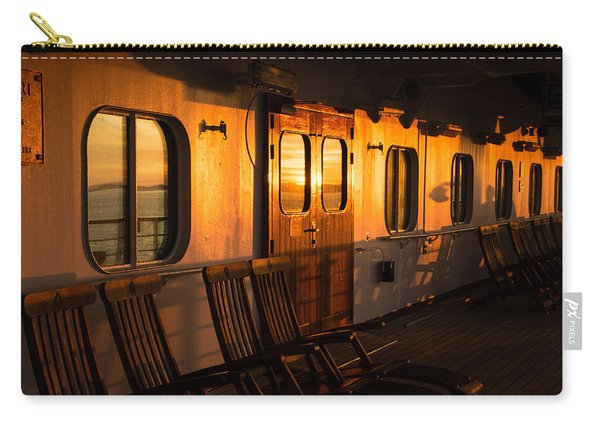 Sunset At Sea Carry-all Pouch