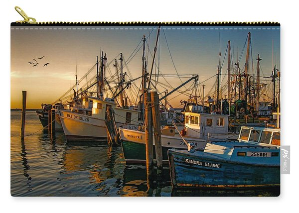 Sunset On The Fleet Carry-all Pouch
