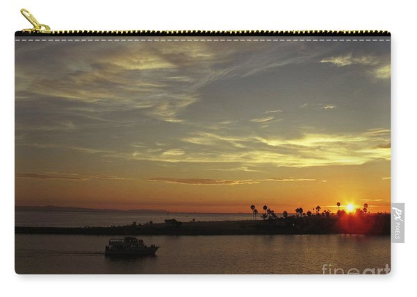 Sunset Over Jetty Point Carry-all Pouch
