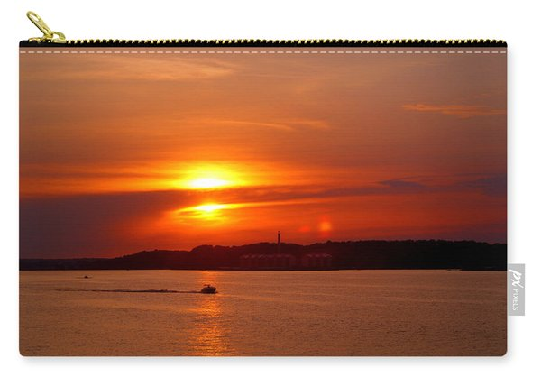 Sunset Over Lake Ozark Carry-all Pouch
