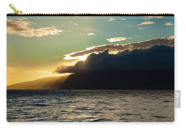 Sunset Over Lanai   Carry-all Pouch