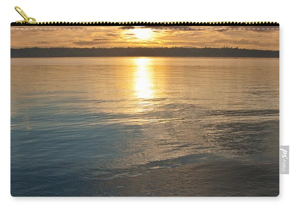 Sunset Over Puget Sound Carry-all Pouch