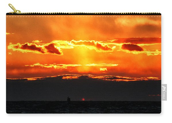 Sunset Over Sound Carry-all Pouch