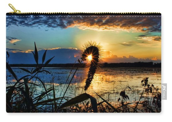 Sunset Over The Refuge Carry-all Pouch