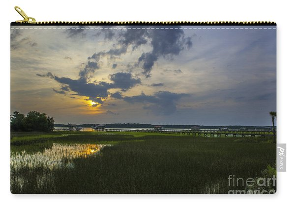 Sunset Over The Wando Carry-all Pouch