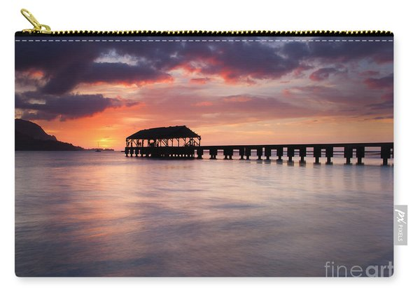 Sunset Pier Carry-all Pouch