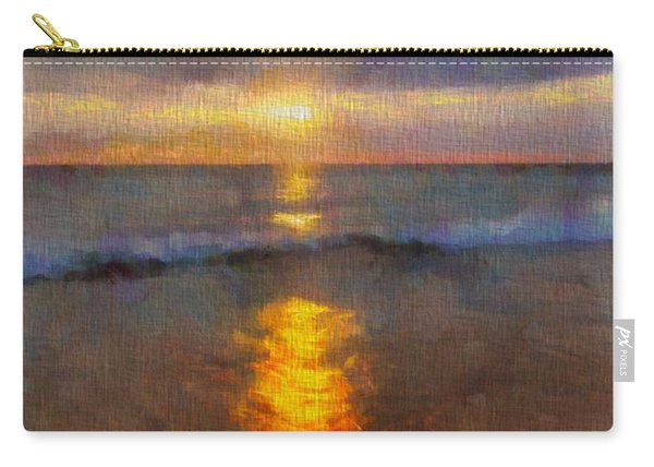 Sunset Reflection At Sleeping Bear Dunes Carry-all Pouch
