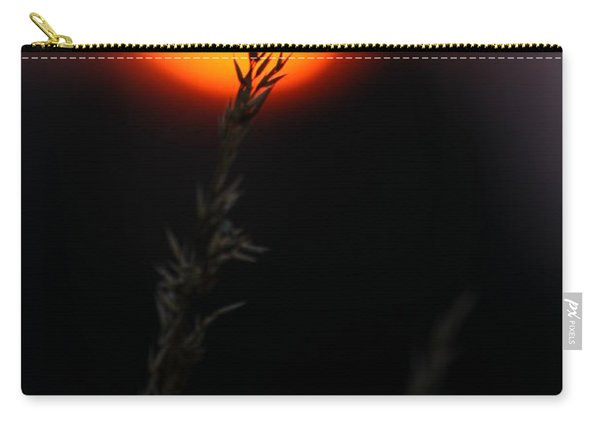 Sunset Seed Silhouette Carry-all Pouch