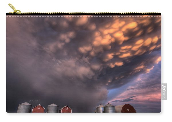 Sunset Storm Clouds Canada Carry-all Pouch