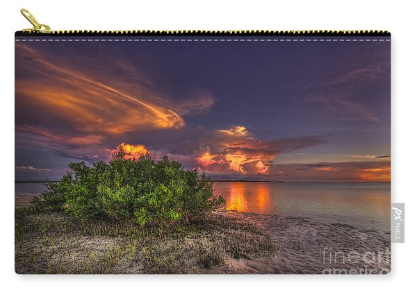 Sunset Thunder Storms Carry-all Pouch