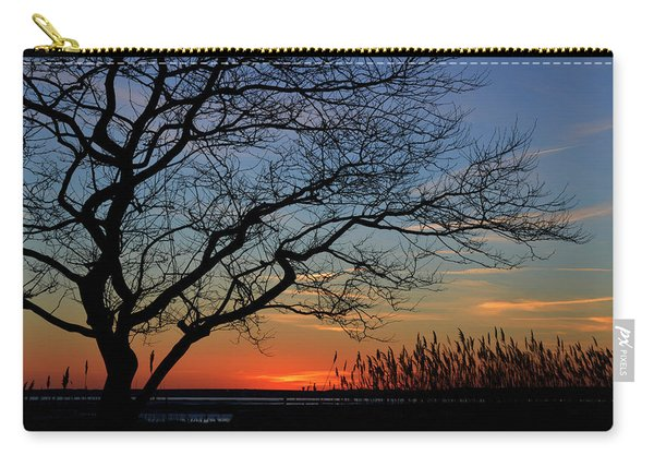 Sunset Tree In Ocean City Md Carry-all Pouch