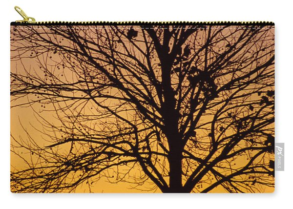 Sunset Tree Carry-all Pouch