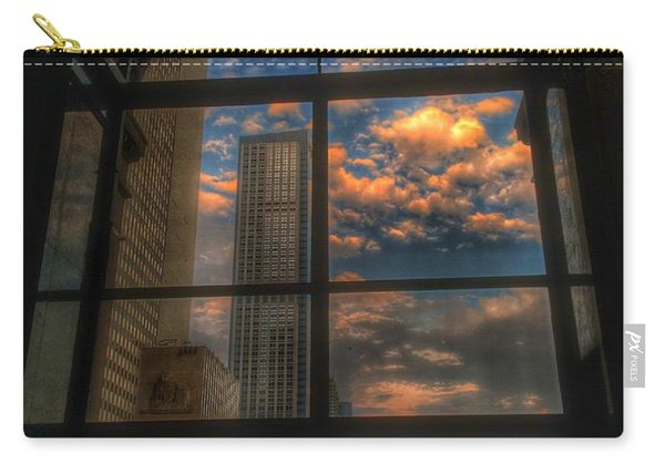 Sunset View Of Chicago Carry-all Pouch