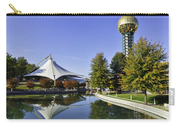 Sunsphere In The Fall Carry-all Pouch