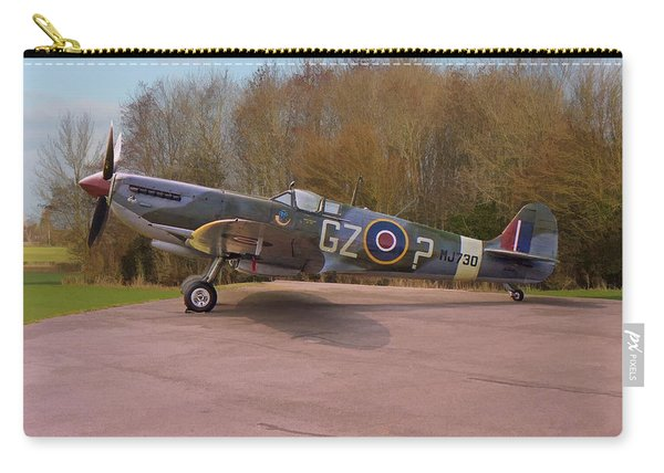Supermarine Spitfire Hf Mk. Ixe Mj730 Carry-all Pouch