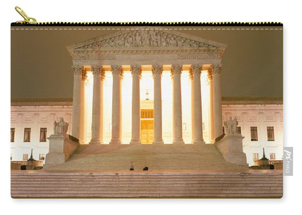 Supreme Court Building Illuminated Carry-all Pouch