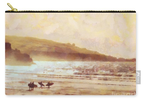 Surfer Dawn Carry-all Pouch