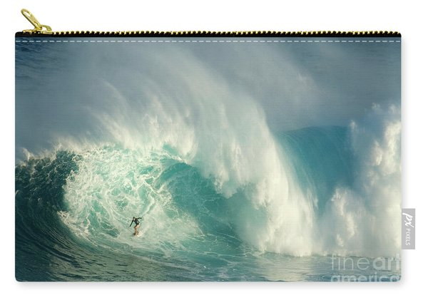 Surfing Jaws 3 Carry-all Pouch