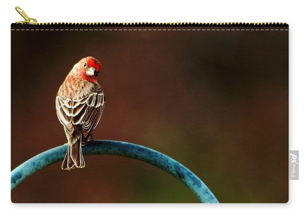 Surreal Purple Finch Carry-all Pouch