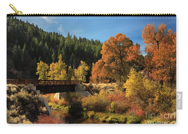 Susan River Bridge On The Bizz 2 Carry-all Pouch
