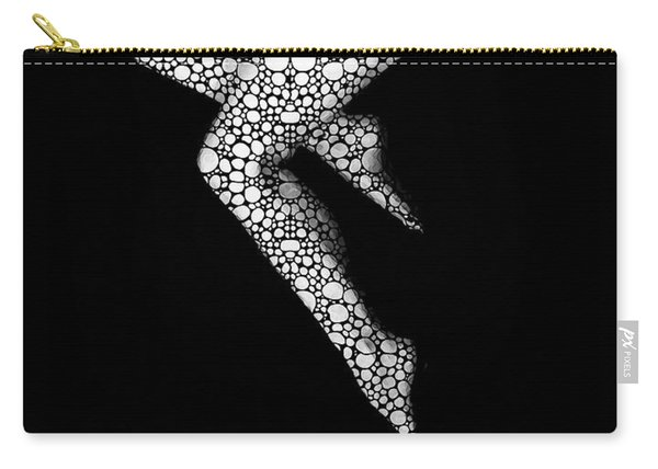 Suspended 2 - Nude Art By Sharon Cummings Carry-all Pouch