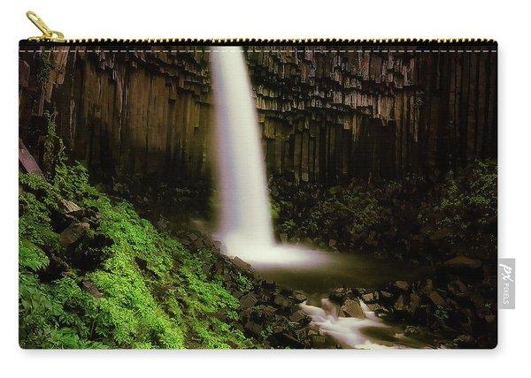 Svartifoss Waterfall, Skaftafell Carry-all Pouch