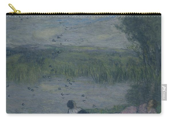 Swallows Oil On Canvas Carry-all Pouch