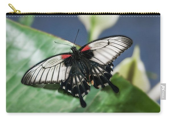 Carry-all Pouch featuring the digital art Swallowtail Butterfly by Mae Wertz