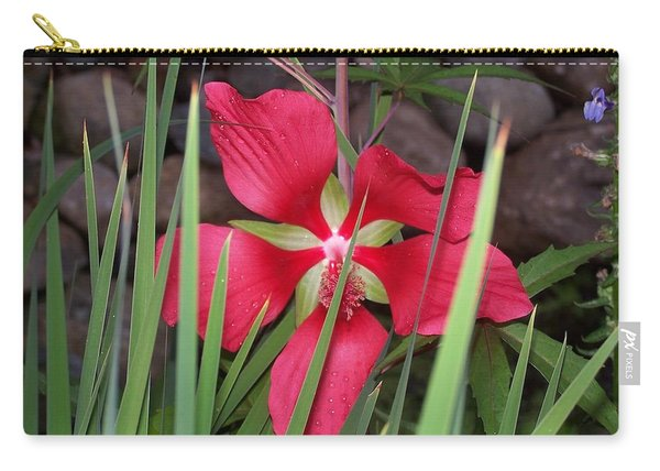 Swamp Hibiscus - Scarlet Mallow Carry-all Pouch