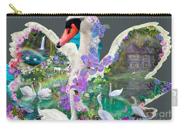 Swan Day Dream Carry-all Pouch