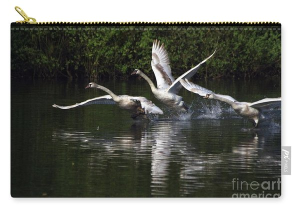 Swan Take-off Carry-all Pouch
