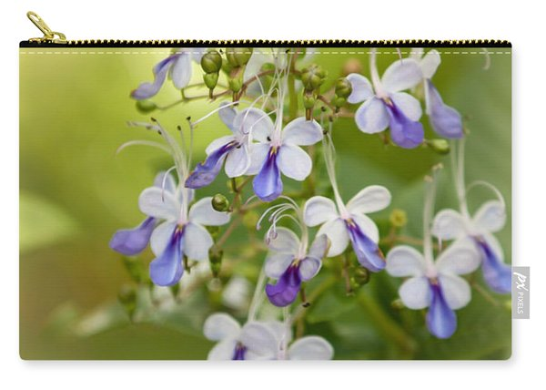 Sweet Butterfly Flowers Carry-all Pouch