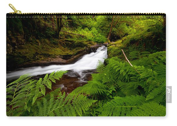 Sweet Creek Ferns Carry-all Pouch