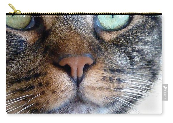 Sweet Green Eyes Carry-all Pouch