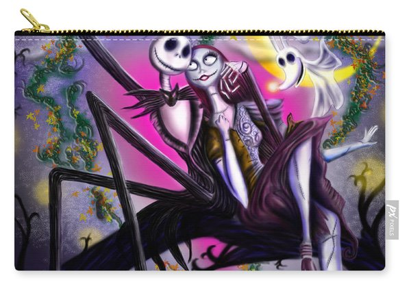 Sweet Loving Dreams In Halloween Night Carry-all Pouch