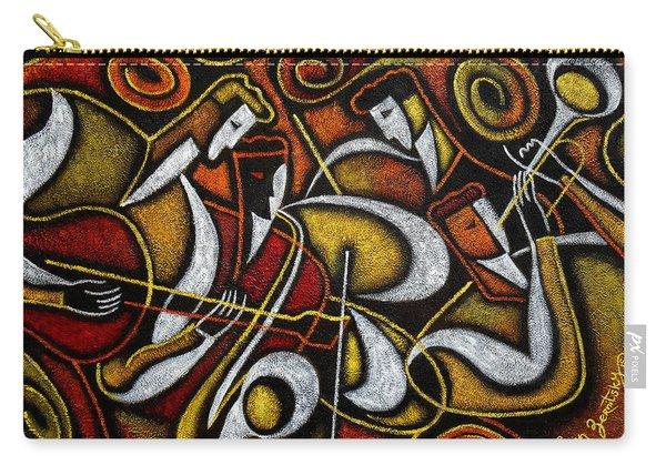 Sweet Sounds Of Jazz Carry-all Pouch