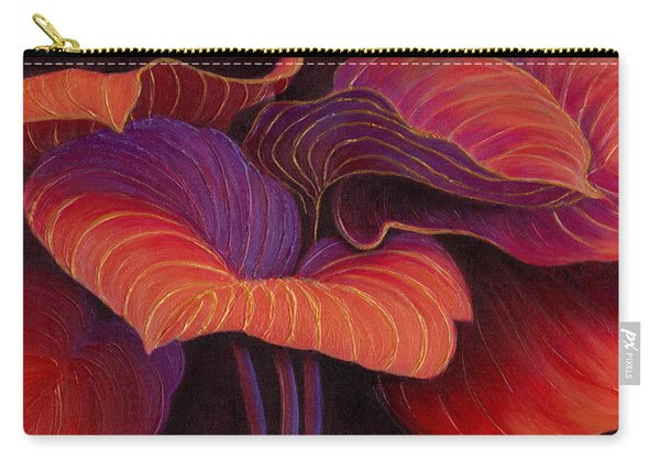 Carry-all Pouch featuring the painting Sweet Tarts by Sandi Whetzel