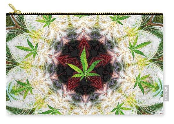Sweetleaf Mandala Carry-all Pouch
