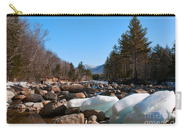 Swift River Ice Blocks Carry-all Pouch