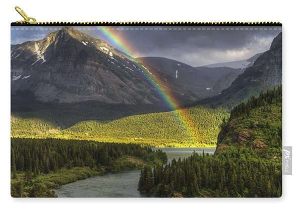 Swiftcurrent River Rainbow Carry-all Pouch
