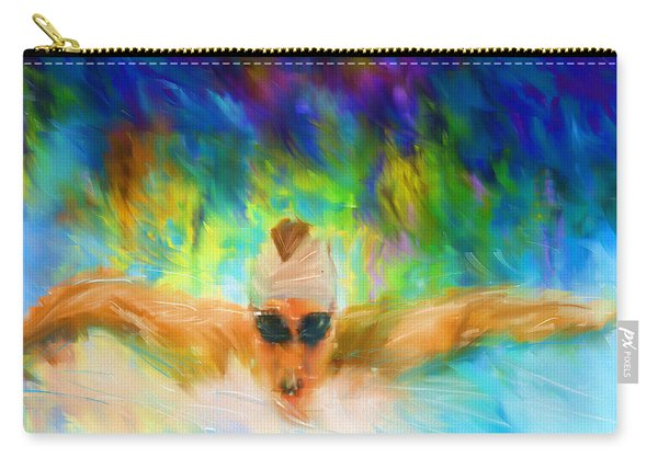 Swimming Fast Carry-all Pouch