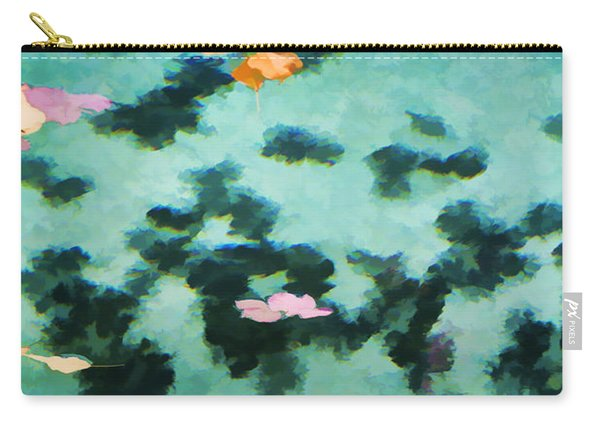Swirling Leaves And Petals 2 Carry-all Pouch