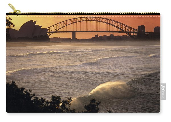 Sydney Surf Time Carry-all Pouch