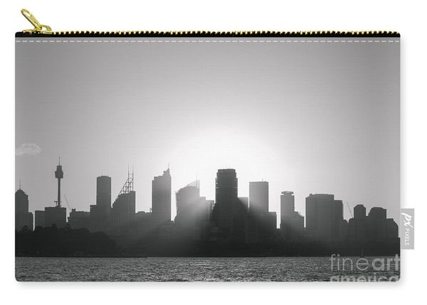 Sydney's Evening B/w Carry-all Pouch